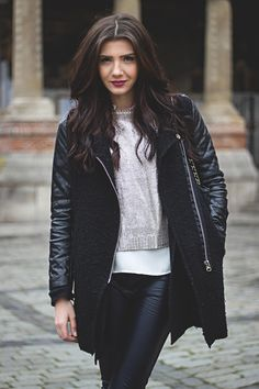 Larisa Costea: themysteriousgirl Black and Silver