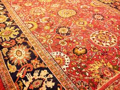 Handmade Zigler Carpet; 14' x 25'.