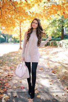 Southern Curls & Pearls: How to Style Faux Leather Leggings