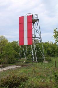 Day 10 of Bingo - Lighthouses - Rowleys Bay Resort  Plum Island front range light, Plum Island, Door County, Wisconsin