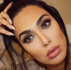 "23.6k Likes, 214 Comments - Huda Kattan (@hudabeauty) on Instagram: ""Wearing some of my favorites  @shophudabeauty Faux Mink lashes in Farah & #hudabeautyliquidmatte…"""