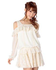 Lace goddess dress. Liz Lisa dress.