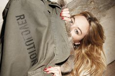 CAMILLE ROWE: ZADIG & VOLTAIRE FALL WINTER 2012/13 ICON