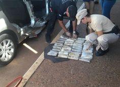 Dos hombres fueron detenidos en Corrientes y más de 150 kilos de marihuana pudieron ser incautados durante un operativo realizado por Prefectura en Corrientes.  El procedimiento se llevó a cabo en la ruta nacional 14, en Ita Ibaté, departamento Santo Tomé, en Corrientes.   #corrientes #NARCOTRÁFICO