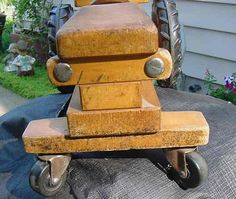 This one's a winner: 40-year-old ride-on tractor.
