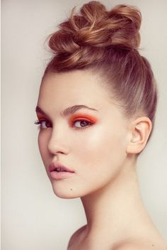 fun twist on the top knot #hair
