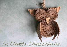 La Civetta Chiacchierina - paper owl -