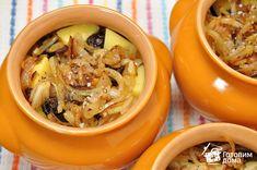 Баранина с картофелем и черносливом, тушенная в горшочке фото к рецепту 8