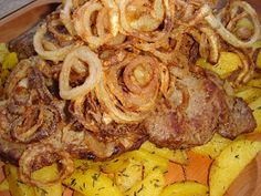 Hungarian Recipes, Pork Dishes, Food 52, Sausage, Steak, Bacon, Grilling, Food And Drink, Cooking