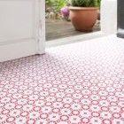 Rose Des Vents Red Vinyl Flooring, Floor Tiles