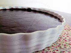 torta de morango, creme de confeiteiro e chocolate