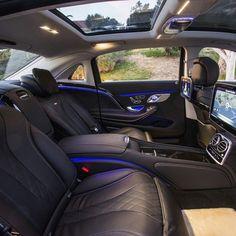 Mercedes Benz Maybach S600 interior