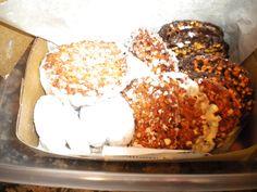 Italian cookies - wedding cookies and florentines - from Laurenzo's On Dixie Hwy N Miami Beach Italian Wedding Cookies, Italian Cookies, Miami Beach, Food, Italian Biscuits, Essen, Meals, Yemek, Eten