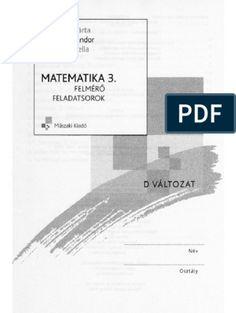 1Hajdu matek 3 D. o 3 D