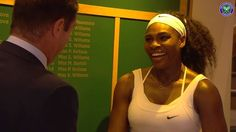 6-Time Ladies Singles Winner at The Championships, Wimbledon:  Serena Williams visits the Wimbledon Roll of Honour. 7/11/15 #Historic <3