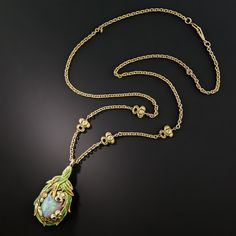 Weximan - Welcome Lalique Jewelry, Opal Jewelry, Jewelry Art, Bridal Jewelry, Vintage Jewelry, Jewellery, 1 Karat, Art Necklaces, Art Nouveau Jewelry