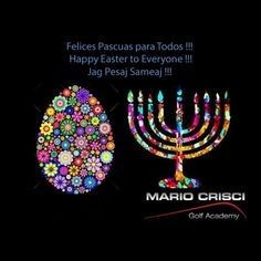 Felices Pascuas para Todos Happy Easter for Everyone Jag Pesaj Sameaj Golf Academy, Happy Easter, Four Square, Catering, Mario, Love, Jewelry, Happy, Frases