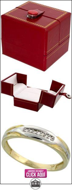 Revoni - Juego de alianzas de oro amarillo  ✿ Joyas para hombres especiales - lujo ✿ ▬► Ver oferta: http://comprar.io/goto/B005M3GO82
