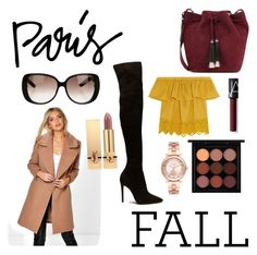 """Parisian Haul"" by ameliekaced ❤ liked on Polyvore featuring Boohoo, MAC Cosmetics, Loeffler Randall, Madewell, Gucci, Yves Saint Laurent, NARS Cosmetics and Michael Kors"