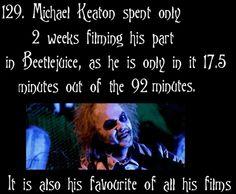 Beetlejuice Fun Fact