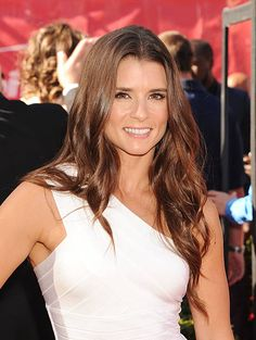 NASCAR race car driver Danica Patrick arrives at the 2014 ESPY Awards at Nokia Theatre L.A. Live on July 16, 2014 in Los Angeles, California.