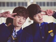 8 couples we want to see paired up again on-screen:: Bromance of the Century: Lee Jong Suk and Kim Woo Bin