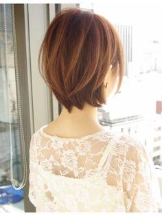 アフロート ジャパン AFLOAT JAPAN AFLOAT『伊輪 宣幸』絶壁解消カットで大人可愛いバックスタイル