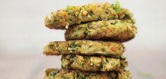 Kolokithokeftedes (Squash Fritters) From The Greek Vegan