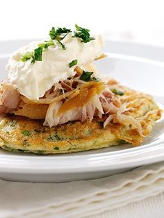 Packed full of healthy fish oils and whole grain nutrients, try this recipe for Oat Pancakes with Smoked Mackerel from Whole Grain Goodness – get cooking!