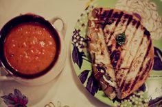 Metropolitan Market tomato basil soup
