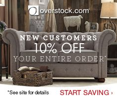 Get Overstock Coupon Codes for 20% off in September 2015 or 10% off Entire Order Promo Codes in 2015! Save online on designer brands and home goods at low prices with coupons, promo codes & Free Shipping at Overstock.com. Note: The 20% Coupon is not available this month - Get 10% off Today! Simply Click… https://ouronlinereviews.wordpress.com/overstock-coupons/