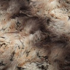 Dark Mocha Cream Fade Faux Fur