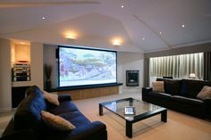 Home Entertainment System Beautifying Concepts