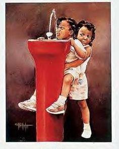 Image Detail for - african american art, african american, black art painting, black art, beautiful painting of sisters Black Love Art, Black Girl Art, My Black Is Beautiful, Black Girl Magic, Art Girl, Beautiful Artwork, Black Art Painting, Black Artwork, Caricatures