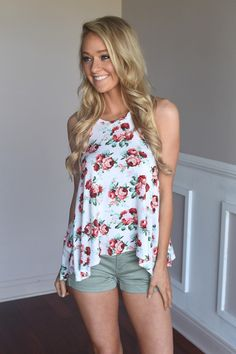 Flower Power Tank – The Pulse Boutique