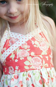 Girls Classic Sundress kids clothing sewing Tutorial Pattern ePattern DIY ebook PDF for kids babies toddlers. $6.49, via Etsy.