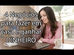 4 Negócios para Você Fazer em Casa e Ganhar Dinheiro na Internet | Ganhar Dinheiro na Internet | Anderson Ferro Mindfulness Activities, Sem Internet, Im Happy, Steve Jobs, Life Organization, Money Tips, Business Marketing, Digital Marketing, Coaching