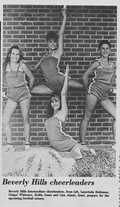 South Belt Houston Digital History Archive: 1980 - 1981 Beverly Hills Cheerleaders