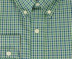The Hookbill Gingham from Southern Marsh.....navy/green for Wesley...Christmas 2012