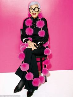 She just turned 95 and style icon, Iris Apfel, shows no signs of slowing down. FEMAIL chats with the fashion muse about her newly launched curated line for Macy's, 'Iris Meets INC', and more.