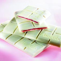Les recettes de l'Ecole du Grand Chocolat - Tablette Opalys Fraise