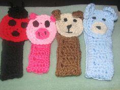 Crochet Animal Passy Clip by LEACreations on Etsy, $6.00