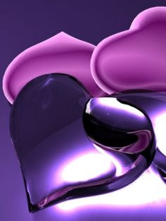 purple heart with <3 from JDzigner. www.jdzigner.com
