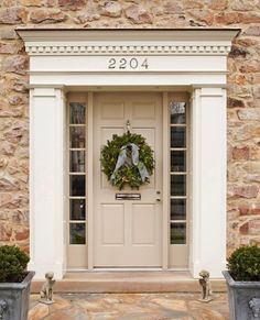 Here are the best feng shui front door colors for your front door. Know how to use color to create a strong and beautiful front door with feng shui. Front Door Molding, Front Door Trims, Front Door Entryway, Front Door Design, Front Door Colors, Entry Doors, Dentil Moulding, Exterior Door Trim, Exterior House Colors