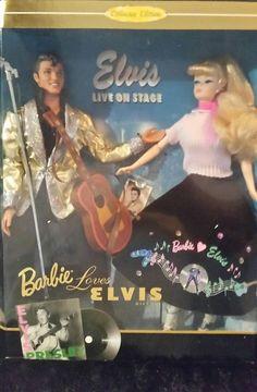 NEW 1996 Barbie Loves Elvis Gift Set Collector Edition Mattel #17450 w COA | Dolls & Bears, Dolls, Barbie Contemporary (1973-Now) | eBay!
