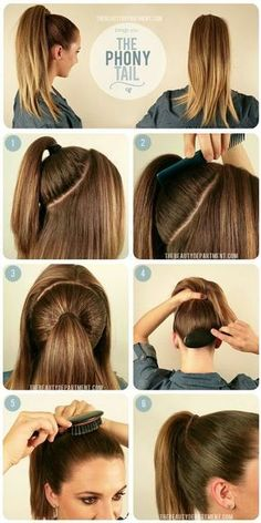 27 Tips And Tricks To Get The Perfect Ponytail 27 Tips And Tricks To Get The Perfect Ponytail,Frisuren Related Best Hairstyles with Braids You Can Wear any Time braided hairstyles for long hairVisit. Ponytail Hairstyles Tutorial, High Ponytail Hairstyles, High Ponytails, Diy Hairstyles, High Ponytail Tutorial, Hairstyle Tutorials, Easy Hairstyle, Hair Bump Tutorial, Hairstyles For Nurses