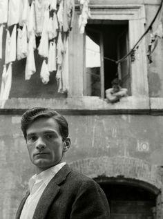 Herbert List (1903-1975) Pier Paolo Pasolini, Trastevere, Rome, Italy 1950