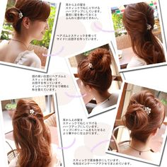 pearly hair stick