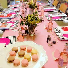 Pink the Town's Calligraphy Workshop Event