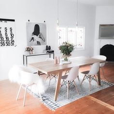 In case you were wondering my dining room doesn't always look like this - check out my Insta story to see what it looks like now - ahh the joys of working from home @immyandindi | We have only a few large House Doctor rugs like this left if you have being eyeing one up | PRODUCT DETAILS are tagged if they aren't it's because they are from Immy and Indi and I can't tag myself more than once